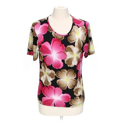 Paola Davoli Floral Shirt in size M at up to 95% Off - Swap.com