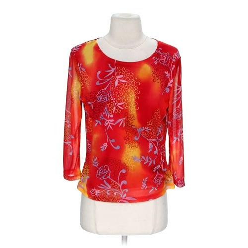 Sarah Kent Floral Shirt in size M at up to 95% Off - Swap.com