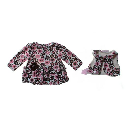 Baby Headquarters Floral Shirt & Vest Outfit in size 6 mo at up to 95% Off - Swap.com