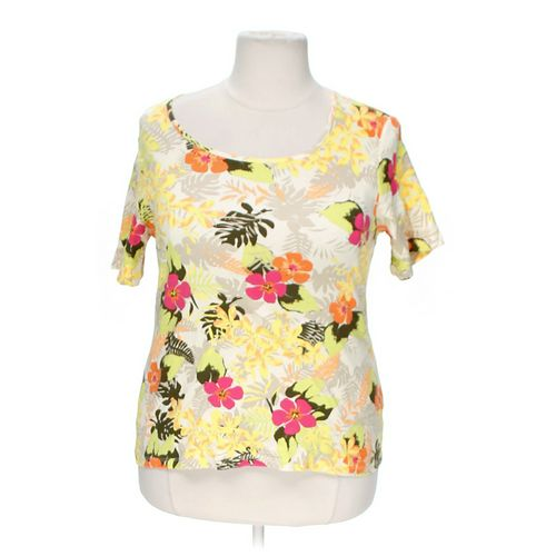 White Stag Floral Shirt in size 20 at up to 95% Off - Swap.com