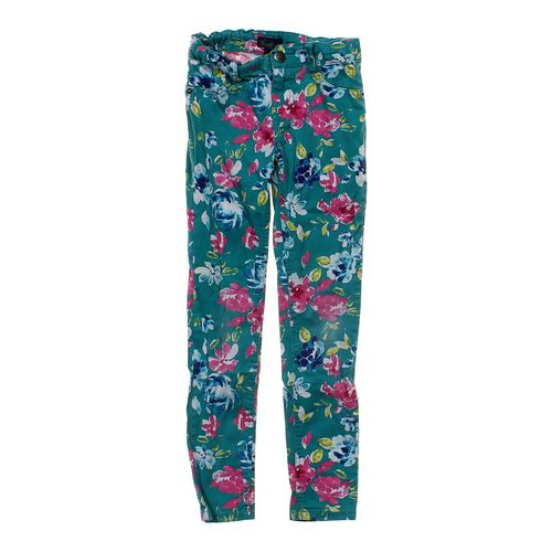 The Children's Place Floral Skinny Jeggings in size 8 at up to 95% Off - Swap.com