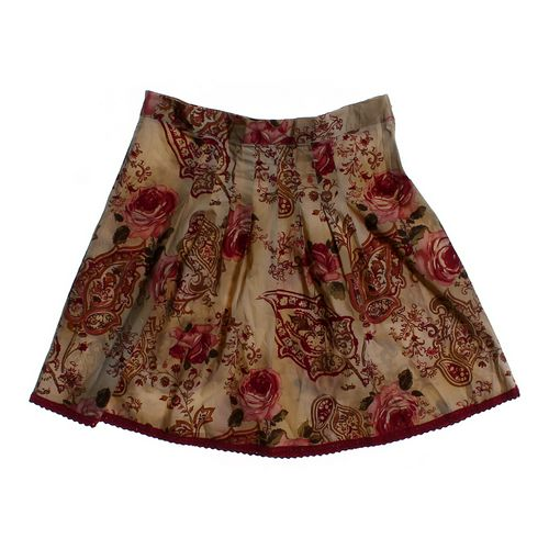Charlotte Russe Floral Skirt in size JR 7 at up to 95% Off - Swap.com