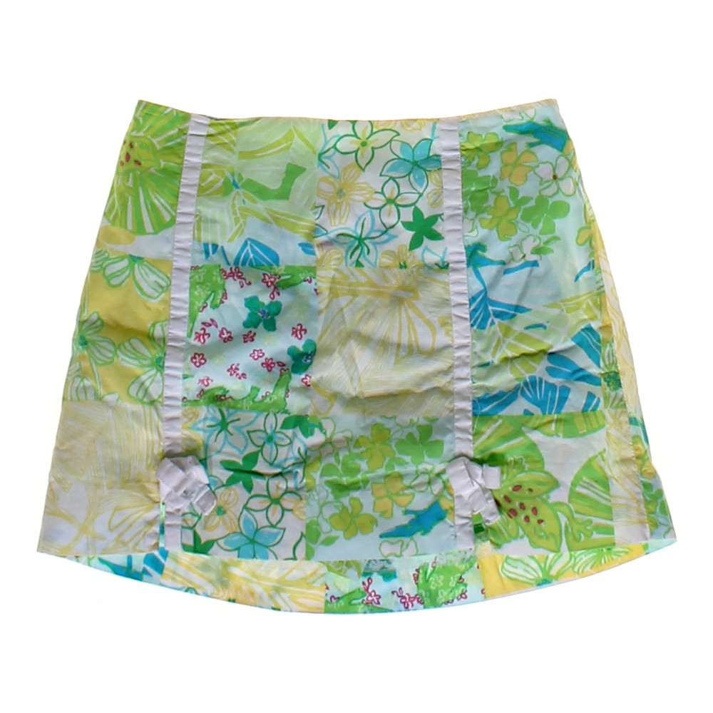 lilly pulitzer floral skort online consignment