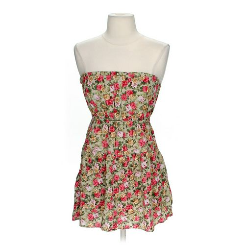 Forever 21 Floral Strapless Dress in size S at up to 95% Off - Swap.com