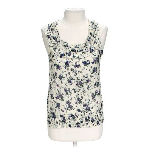 Mine Floral Tan Top in size L at up to 95% Off - Swap.com