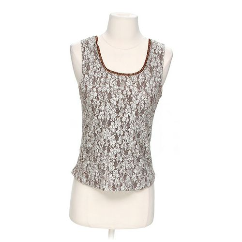 Christopher & Banks Floral Tank Top in size S at up to 95% Off - Swap.com