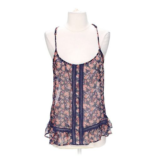 Fun & Flirt Floral Tank Top in size S at up to 95% Off - Swap.com