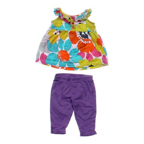 Carter's Floral Tank Top & Pants Set in size 3 mo at up to 95% Off - Swap.com