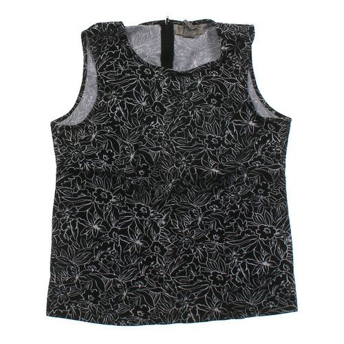 Sag Harbor Floral Tank Top in size L at up to 95% Off - Swap.com