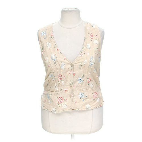 White Stag Floral Vest in size 12 at up to 95% Off - Swap.com