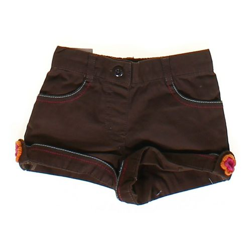 Gymboree Flower Accented Cuffed Shorts in size 6 mo at up to 95% Off - Swap.com