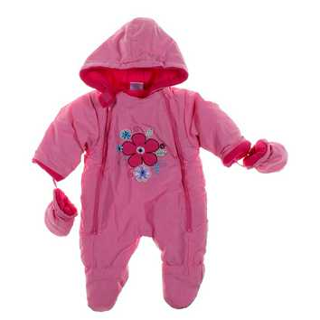 Flower Accented Footed Snowsuit for Sale on Swap.com