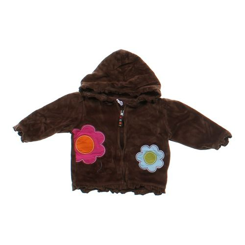 Carter's Flower Accented Hoodie in size 6 mo at up to 95% Off - Swap.com