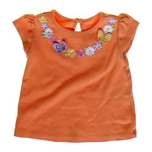 Gymboree Flower Accented Shirt in size 3 mo at up to 95% Off - Swap.com
