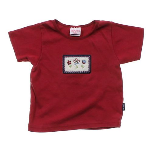 Carter's Flower Accented T-shirt in size 2/2T at up to 95% Off - Swap.com