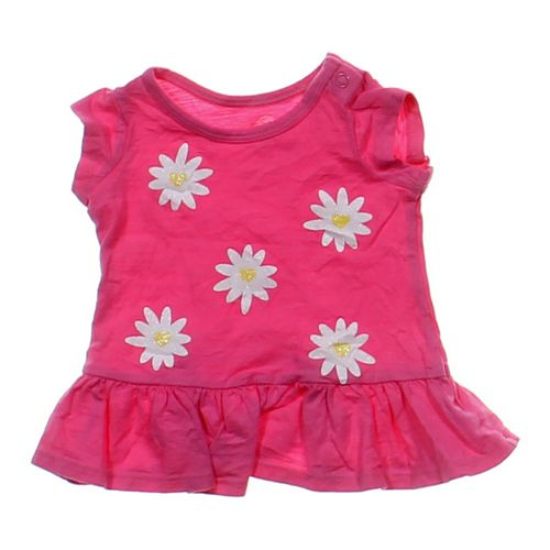 Okie Dokie Flower Accented Tunic in size 6 mo at up to 95% Off - Swap.com