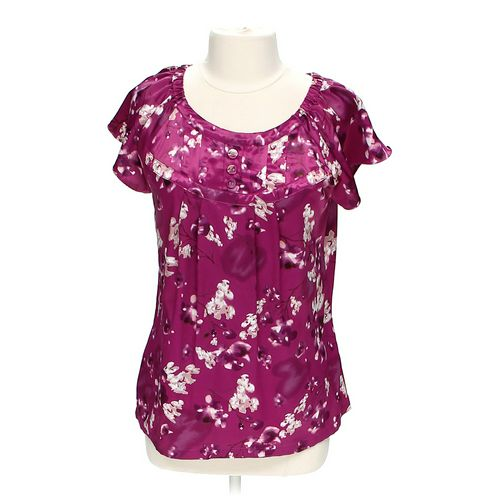 Apt. 9 Flower Blouse in size L at up to 95% Off - Swap.com