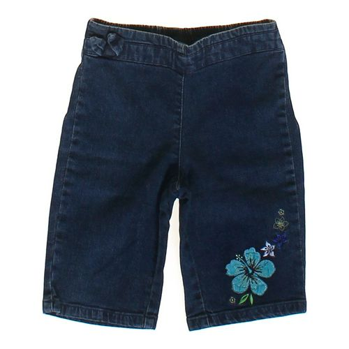 First Impressions Flower Embroidered Jeans in size 18 mo at up to 95% Off - Swap.com