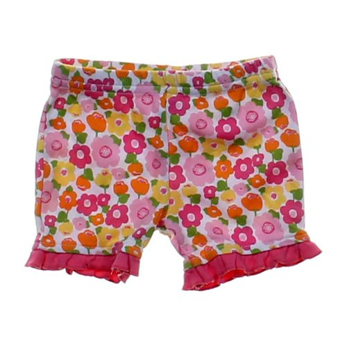 Cutie Pie Flower Patterned Shorts in size 3 mo at up to 95% Off - Swap.com