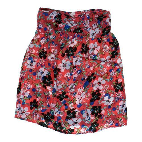 Xhilaration Flower Patterned Strapless Top in size JR 11 at up to 95% Off - Swap.com