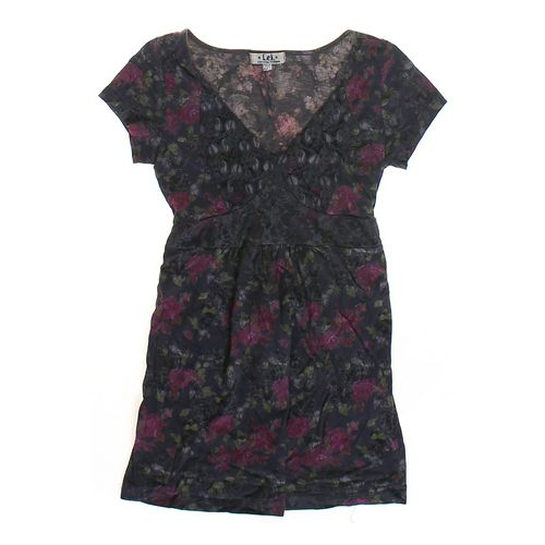L.E.I. Flower Patterned Tunic in size JR 7 at up to 95% Off - Swap.com