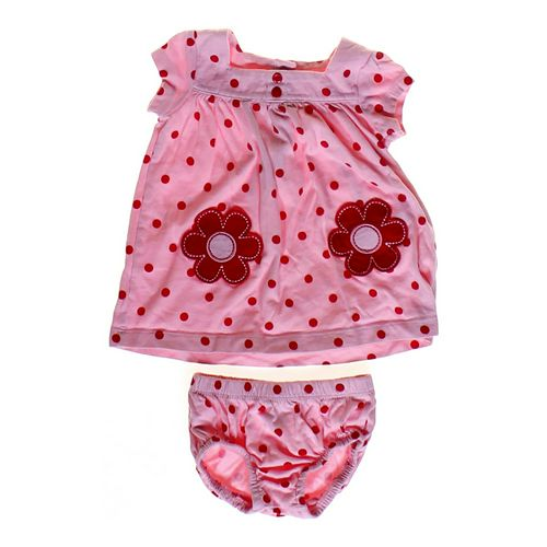 Carter's Flower Polka Dot Dress in size 6 mo at up to 95% Off - Swap.com