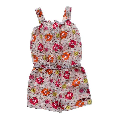 Calvin Klein Flower Romper in size 4/4T at up to 95% Off - Swap.com