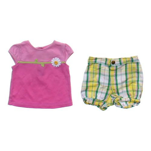 Gymboree Flower Shirt & Short Set in size 3 mo at up to 95% Off - Swap.com