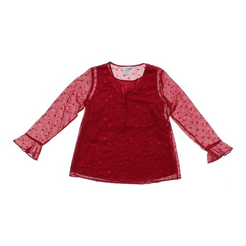 Motherhood Maternity Flower Trendy Maternity Shirt in size L at up to 95% Off - Swap.com