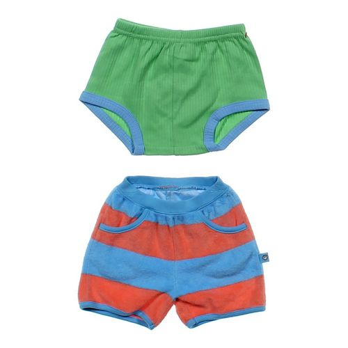 Bon Bébé Football Bloomers & Striped Shorts in size 3 mo at up to 95% Off - Swap.com