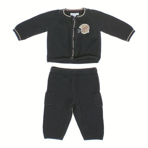 Dylan & Abby Football Cardigan & Cargo Pants in size 3 mo at up to 95% Off - Swap.com