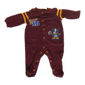 Football Footed Pajamas for Sale on Swap.com