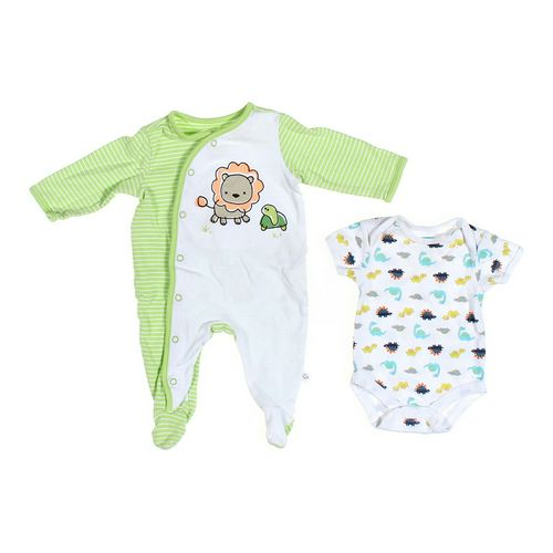 First Moments Footed Pajamas & Bodysuit Set in size 3 mo at up to 95% Off - Swap.com