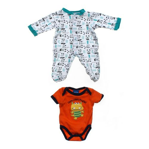 Sandy & Simon Footed Pajamas & Bodysuit Set in size NB at up to 95% Off - Swap.com