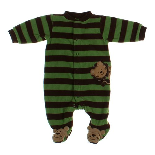 e9206c308 Carter s Boys Striped Polyester Footed Pajamas