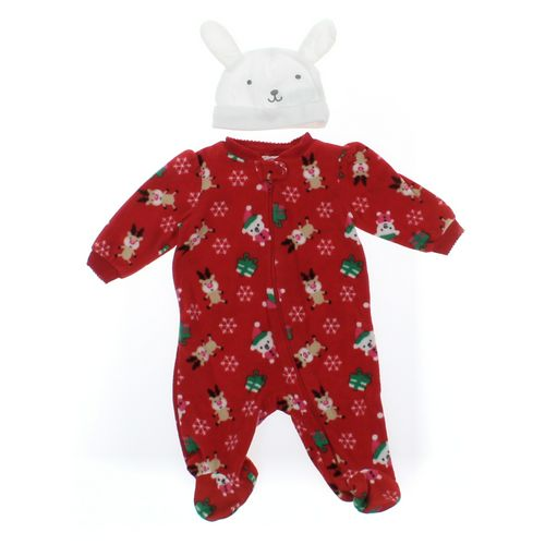 Holiday Time Footed Pajamas in size NB at up to 95% Off - Swap.com