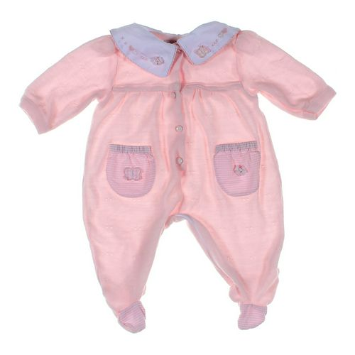 Little Diamonds Footed Pajamas in size 3 mo at up to 95% Off - Swap.com