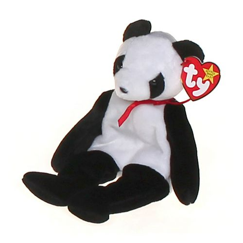 Ty Fortune the panda bear ty beanie baby - retired at up to 95% Off - Swap.com