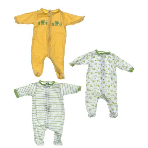 Gerber Froggy Footed Pajamas Set in size NB at up to 95% Off - Swap.com