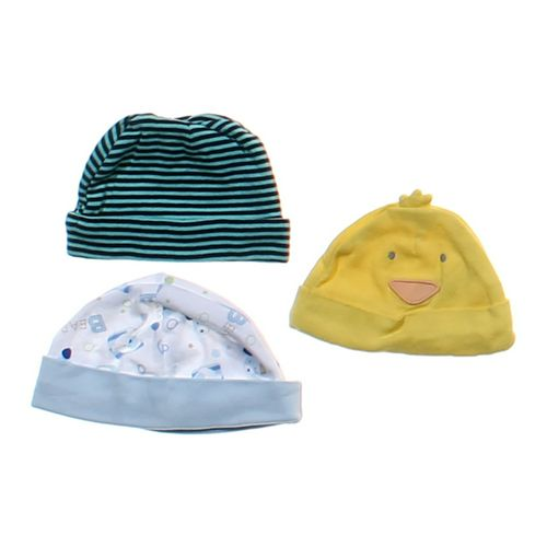 Carter's Fun 3-Piece Hat Set in size NB at up to 95% Off - Swap.com