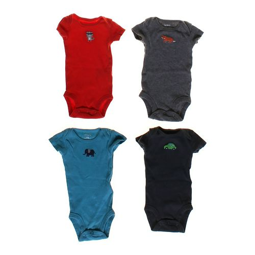 Carter's Fun Embroidered Bodysuit Set in size NB at up to 95% Off - Swap.com