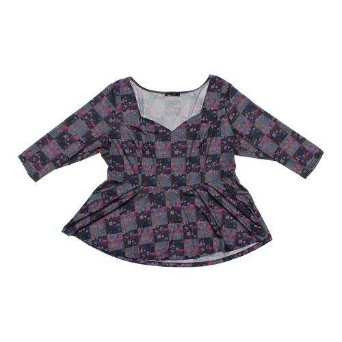 Isabel + Alice Fun Patterned Blouse in size 2X at up to 95% Off - Swap.com