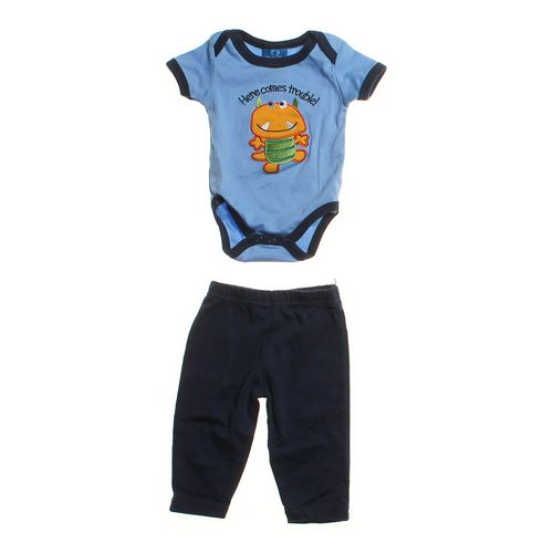 Baby Paris Fun Time Bodysuit Set in size 3 mo at up to 95% Off - Swap.com