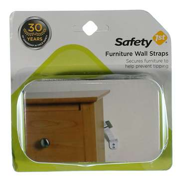 Furniture Wall Straps 2 Count [Pack of 1] for Sale on Swap.com