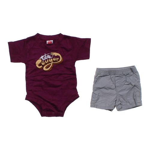 """Wry Baby """"Future Cougar"""" Outfit in size 6 mo at up to 95% Off - Swap.com"""