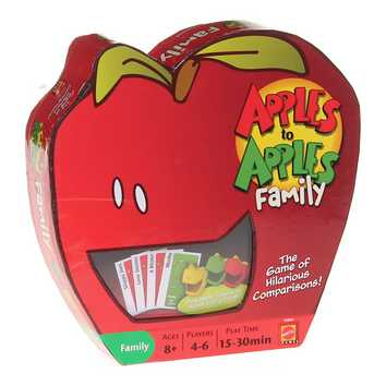 Game: Apples to Apples Family for Sale on Swap.com