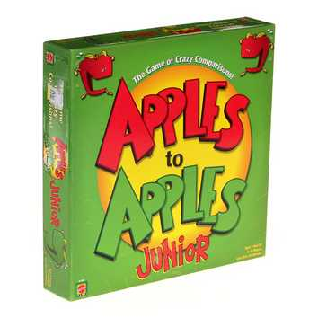 Game: Apples to Apples Junior for Sale on Swap.com