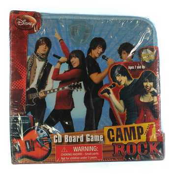 Game: Camp Rock CD Board Game for Sale on Swap.com