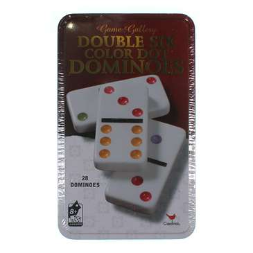 Game: Cardinal Classic Games - Double Six Color Dot Dominoes for Sale on Swap.com