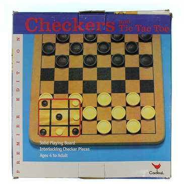 Game: Checkers & Tic Tac Toe Game for Sale on Swap.com